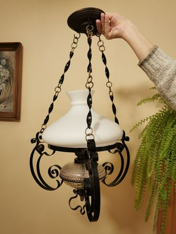 Lampa sufitowa retro