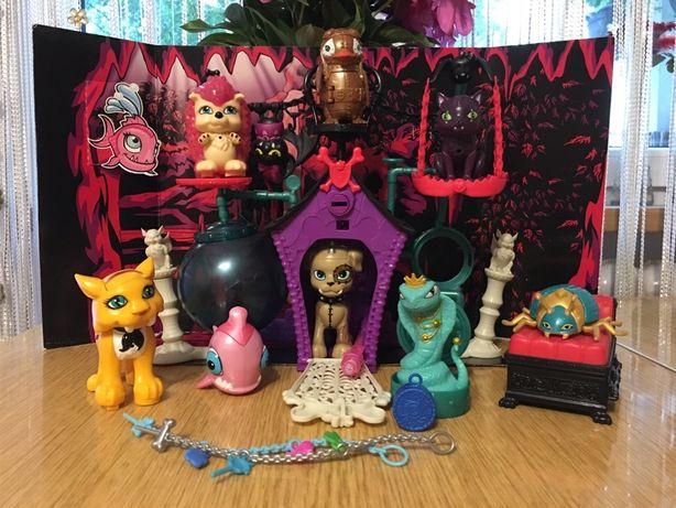 Monster High - Tajna krypta kota - domek dla zwierzaków