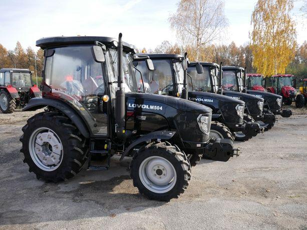 Ciągnik Rolniczy Komunalny LOVOL M504 4x4 Traktor CBM Klimatyzacja