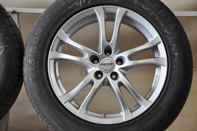 "Felgi Koła Mega Wheels 17"" Subaru 5x100 opony zimowe 215/60"