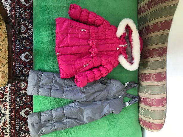 Зимова курточка і комбенізон.