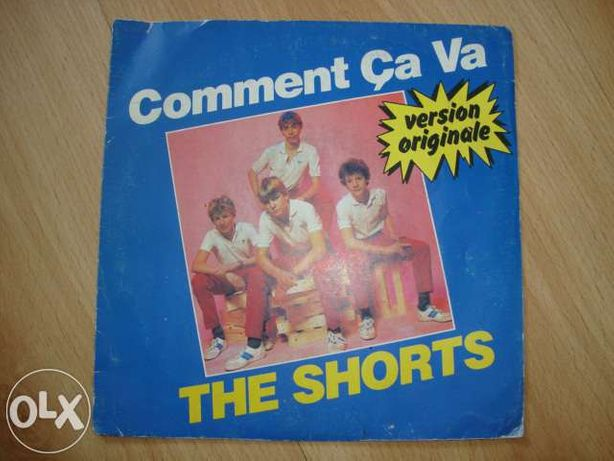 Disco vinil The shorts - Comment ça va