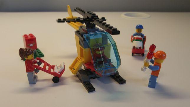 LEGO city 60100 małe lotnisko helikopter