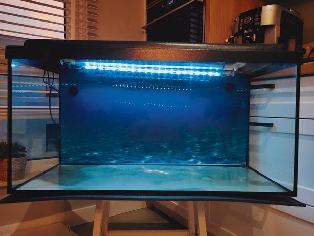 Akwarium 105 l z całym wyposażeniem