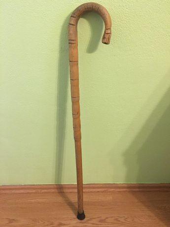 Inwalidzka / ortopedyczna laska drewniana