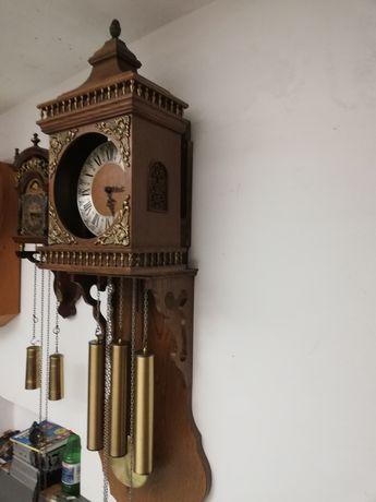 Sprzedam zegar ścienny Dębowy Holenderski