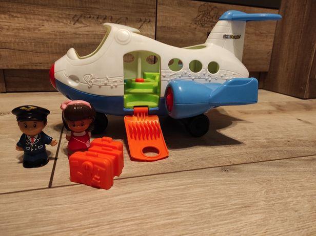 Interaktywny samolot Fisher Price Little People