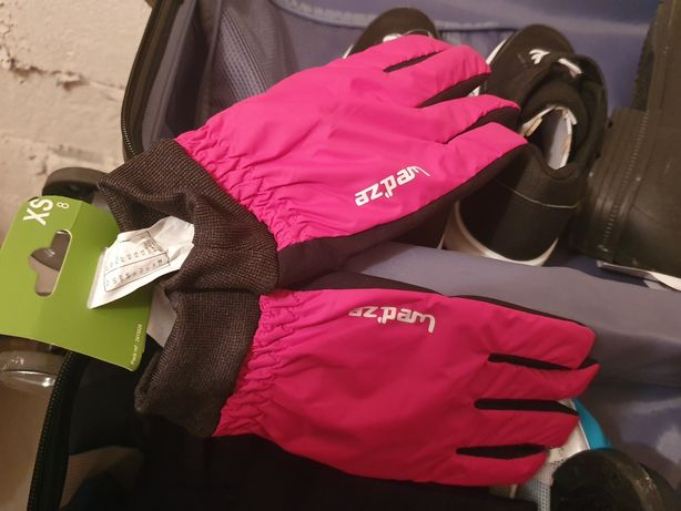 Rękawice rękawiczki wedze różowe rozmiar XS nowe
