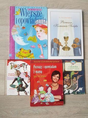 Książki dla dzieci różne Wiersze Superniania Komunia