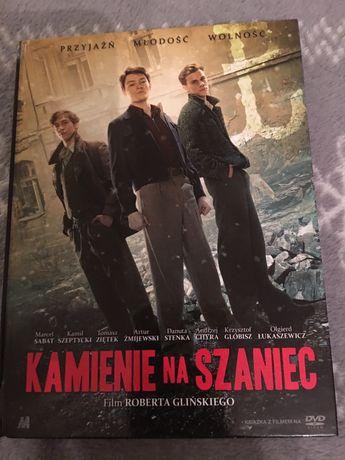 """Płyta dvd - film """"Kamienie na szaniec"""" - nowe"""