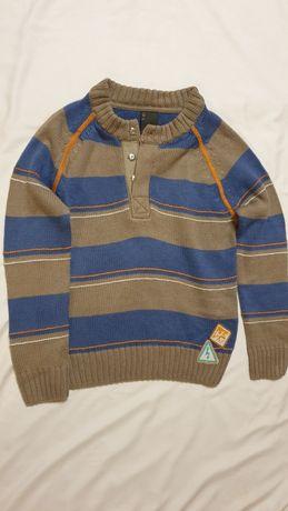 Sweter chłopięcy Coccodrillo 122cm