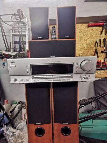 Amplituner plus głośniki