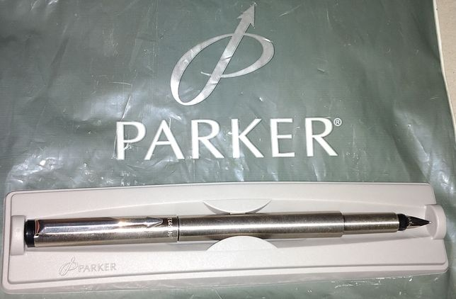 Pióro wieczne stalowe Parker + wkłady