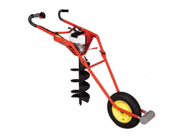 Wiertnica glebowa świder wózek