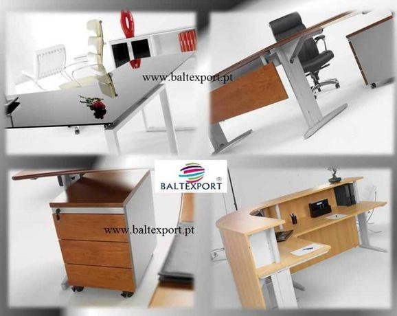 Mobiliario escritorio/Mesa reunião/Armarios/Cadeiras/Vestiario Novo