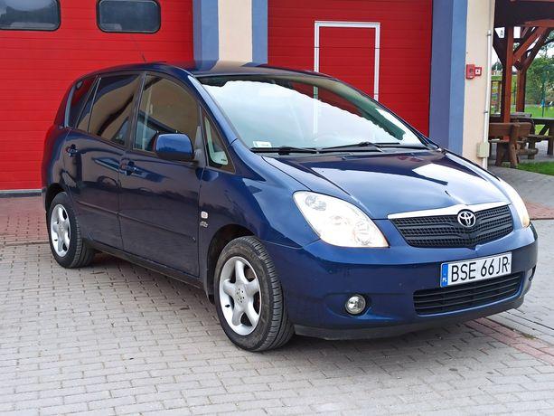 Toyota Corolla Verso 2.0D D4D Hak / Klima /  Abs / Alu / Nowe Opony
