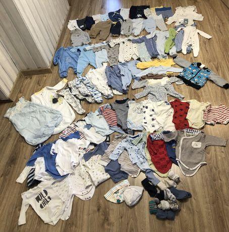 Wyprawka dla noworodka paka ubrań dla chłopca