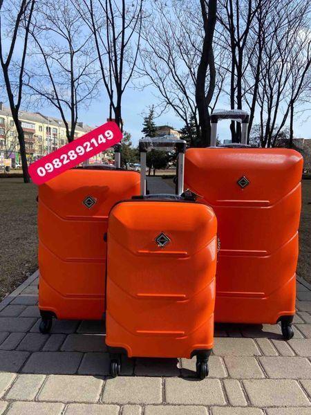 Яркий!Чемодан Польша на колесах,валіза,сумка на колесах,дорожная сумка