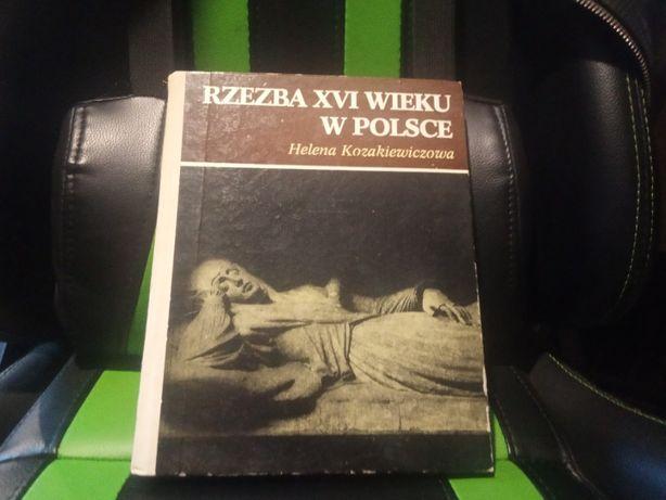 Książka Rzeźba XVI wieku w Polsce - Helena Kozakiewicz