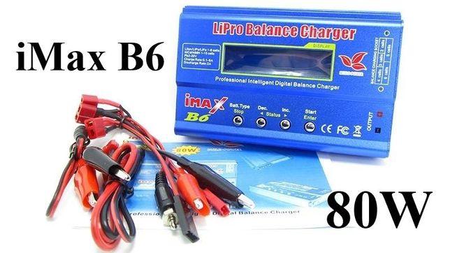 Универсальное зарядное устройство тестер аккумуляторов IMax B6 5A 80W.