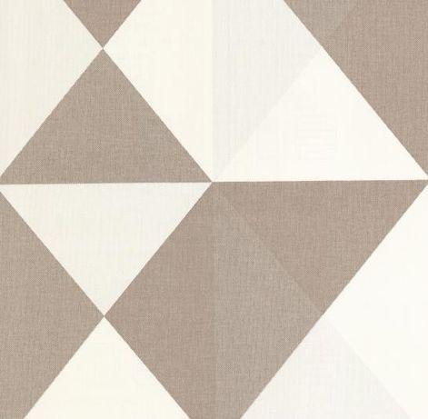 Tapeta ścienna winylowa na fizelinie zmywalna 0,53x10mb trójkąty