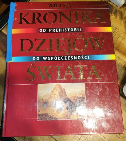Wielka kronika dziejów świata Od prehistorii do współczesności Świat K