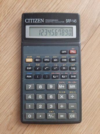 Citizen SRP-145 kalkulator naukowy 40 kroków pierwiastki sinus cosinus