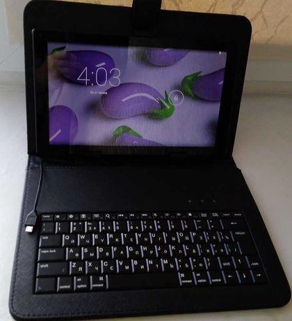 Продам планшет Bravis NP101 с чехлом-клавиатурой