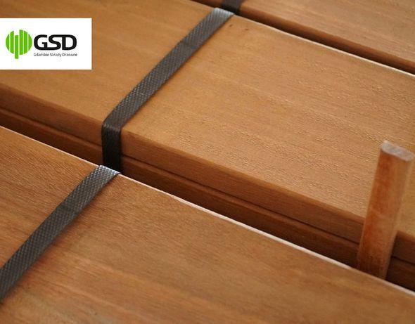 Deski tarasowe BANGKIRAI 21x145 mm TCZEW deski tarasowe