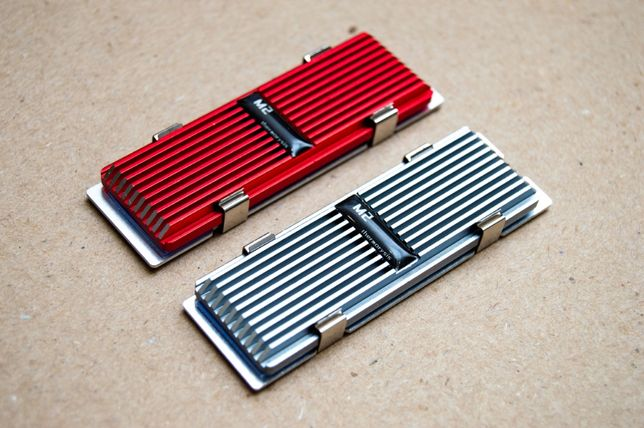 Радиатор для SSD M.2 дисков, охлаждение NVMe