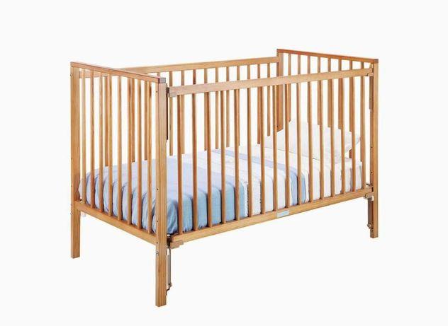 Cama bebê marca Zippy com colchão de IKEA