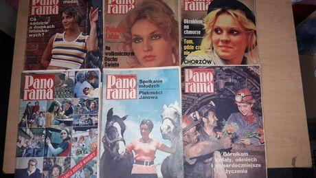Stare gazety Panoramy
