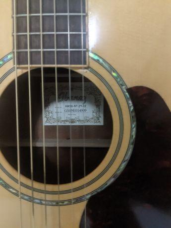Vendo a minha Ibanez Artwork acústica. Tampo sólido em spruce.
