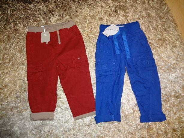 Nowe spodnie Indigo i next r.12-18mc