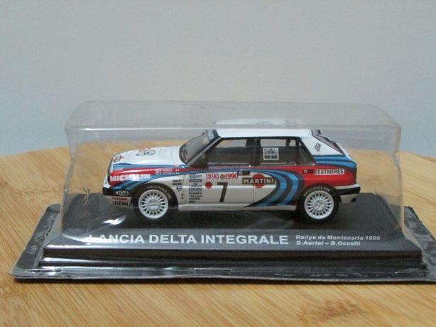 Lancia Delta Integrale #7 Rali MonteCarlo 1990 - Altaya escala 1/43