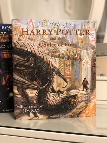 Harry Potter and the Goblet of Fire оригинал ,Bloomsbury