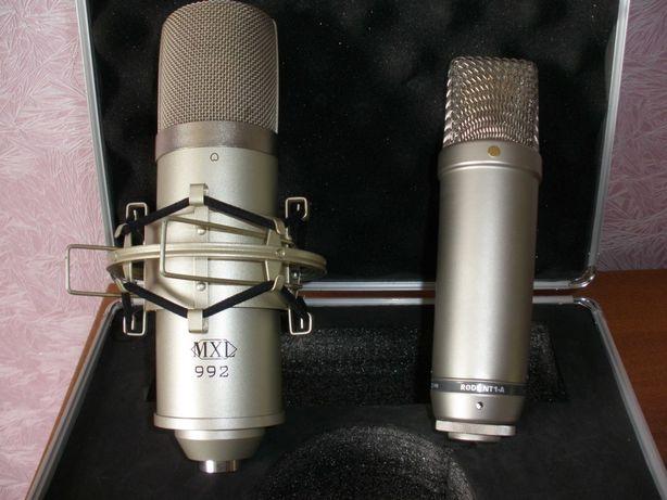 Микрофон конденсаторный студийный Marshall MXL 992 (почти Rode)