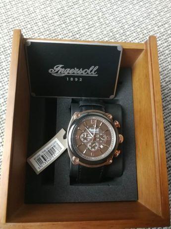 Мужские часы Ingersoll Michigan Chronograph I01202 (оригинал) НОВЫЕ