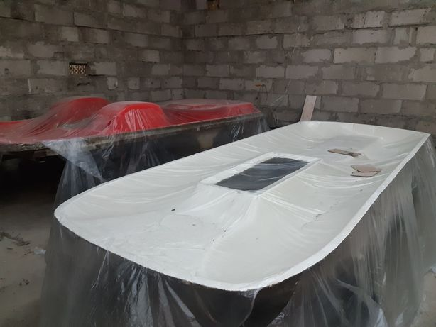 Forma rower wodny laminat żywica łódka