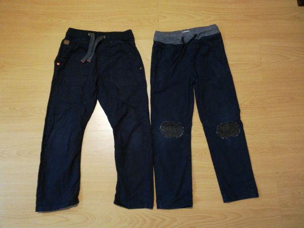 Spodnie granatowe r 122