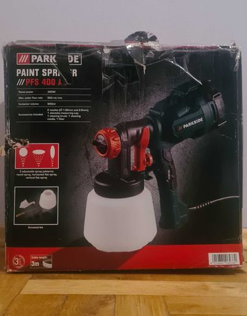 PARKSIDE® Pistolet malarski PFS 400 A1, 400 W