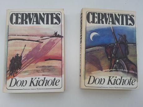 Cervantes Don Kichot tom 1-2