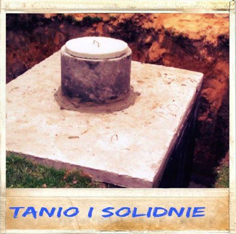 szamba betonowe szambo 4m3 zbiornik na wodę kanał piwnica betonowa