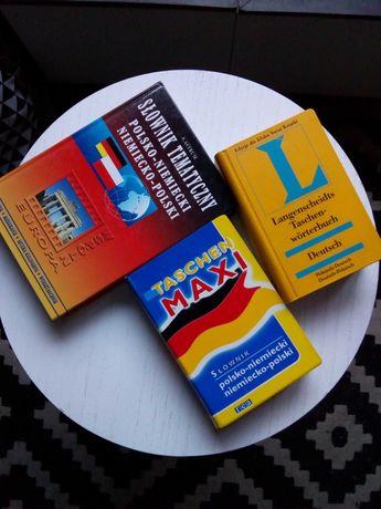 Słownik polsko niemiecki, niemiecko polski, tematyczny
