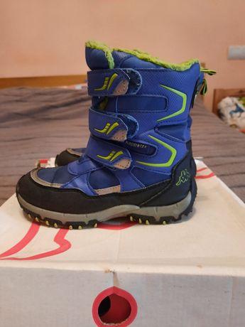Kappа TEX Waterproff,зимові термоботіночки,чобітки розмір 29