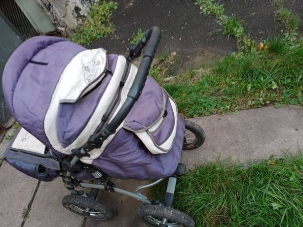 Дитяча коляска з переноскою