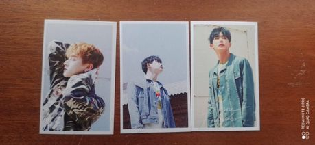 (Kpop) Photocards Wonho/Monsta X (portes incluídos)