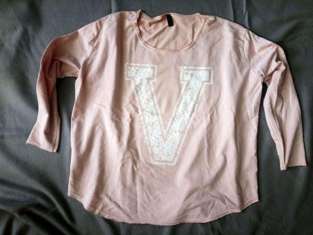 VERO MODA bluza roz. L/XL pudrowy róż