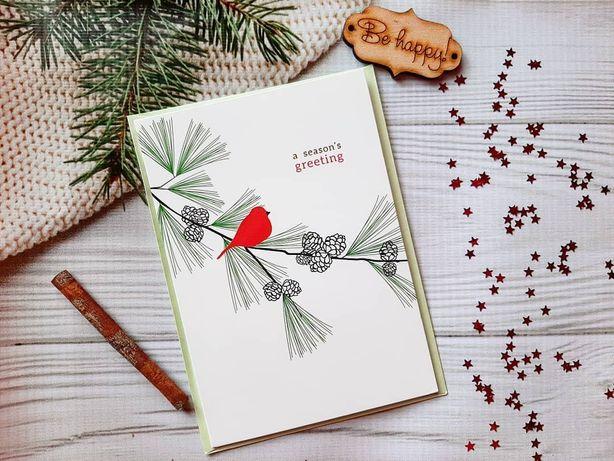 Новогодние открытки по ОПТОВЫМ ЦЕНАМ