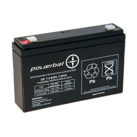 Akumulator żelowy AGM 6v7Ah Do zabawki jeździkaZASILANIE